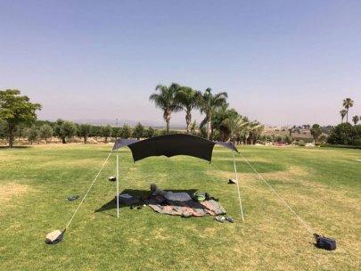 otentik sunshade on gress