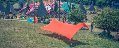 otentik sunshade at ozora festival